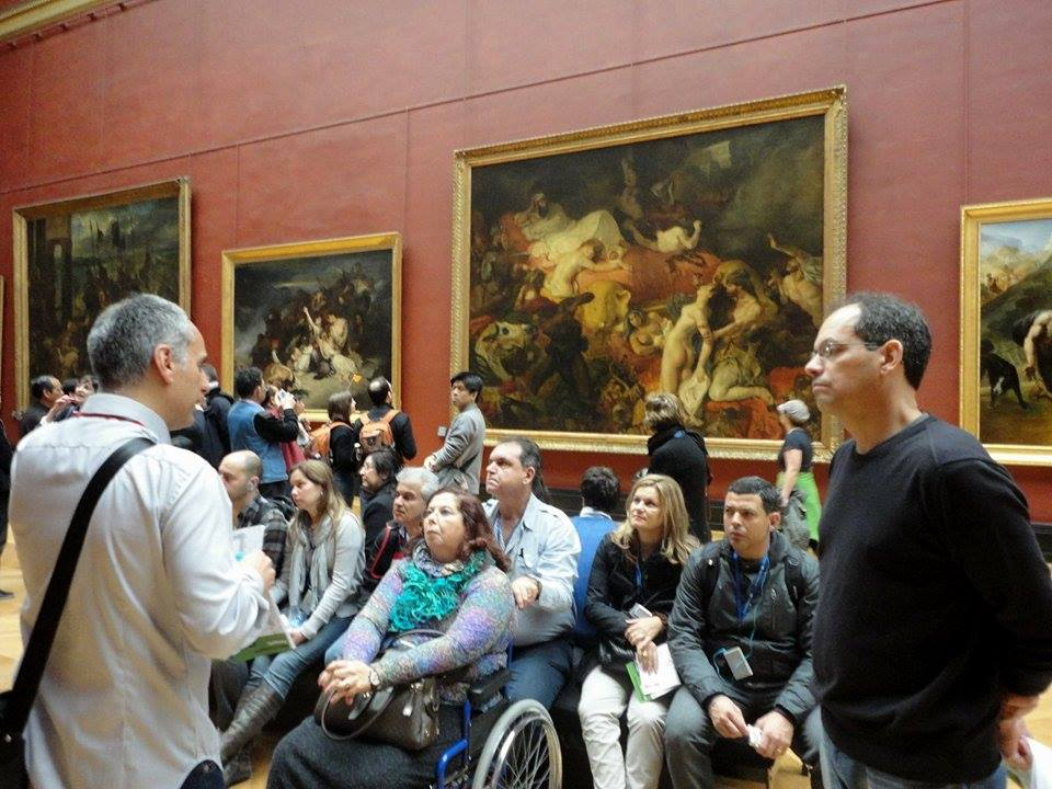 Tom Pavesi Guia do Louvre