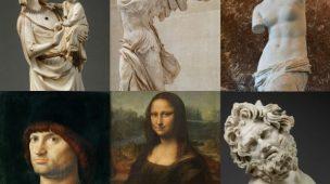 História das coleções do Louvre