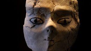 Estátua de forma humana, a mais antiga do Louvre