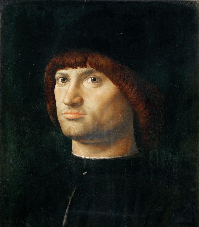 Retrato de um homem, dito Condotiero