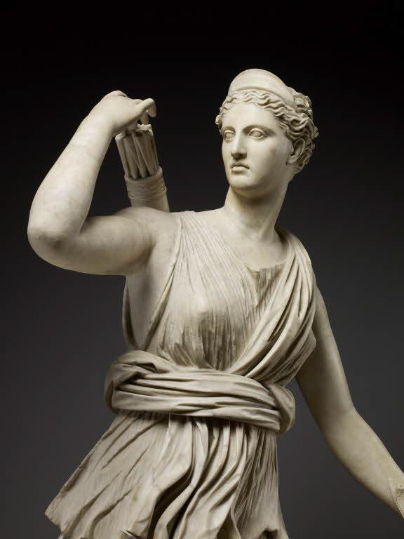 Ártemis e a corça ou Diana de Versalhes