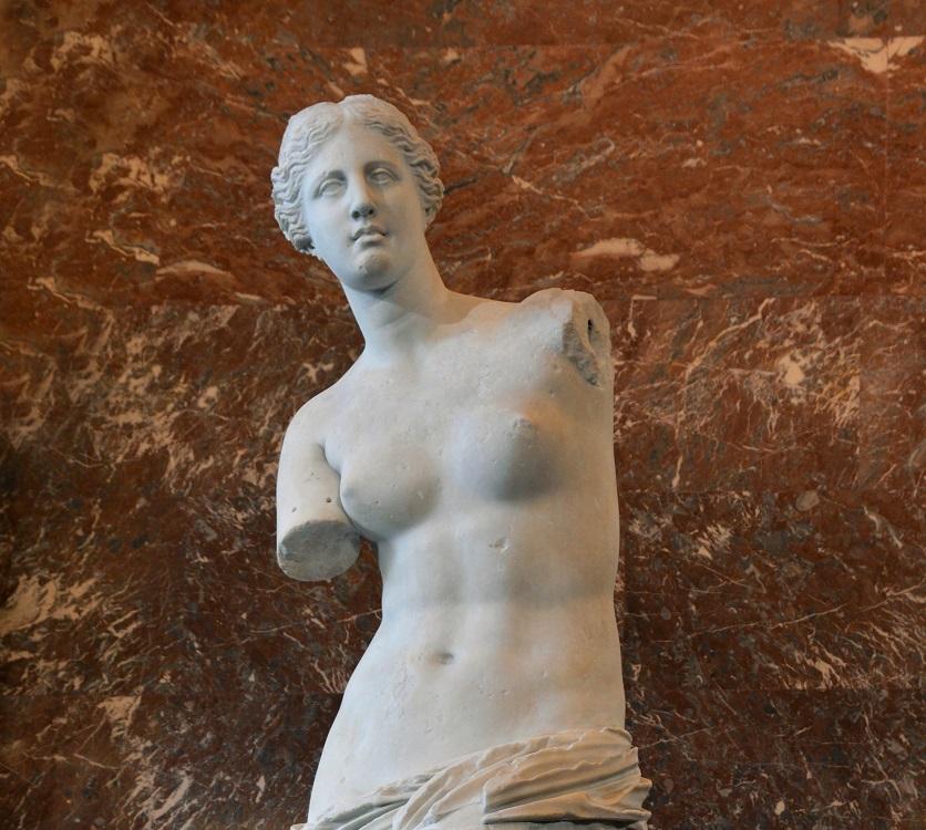 Afrodite ou Vênus de Milo deusa da beleza e do amor