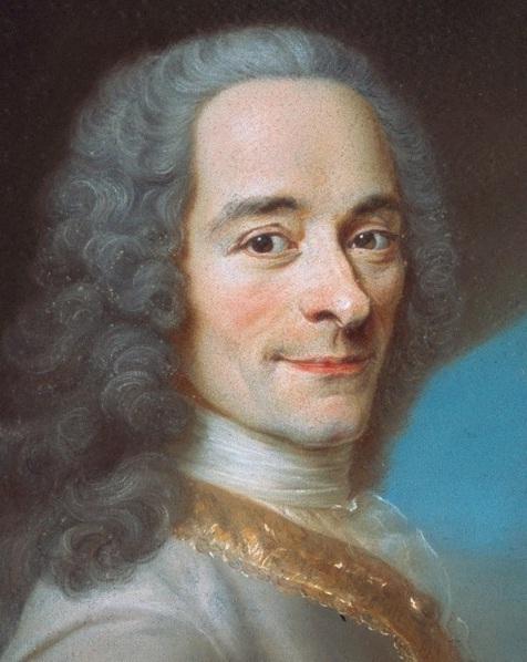 Voltaire nu ou o Velho Ideal