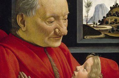 Retrato do velho homem e do jovem menino