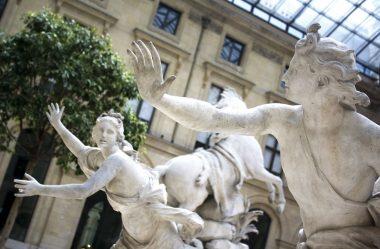 Apolo perseguindo Dafne