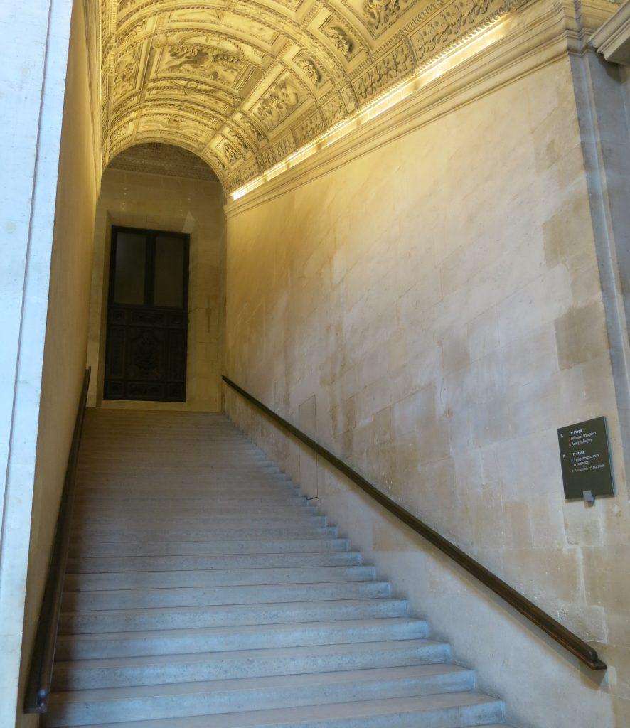Escalier Henri II, Louvre