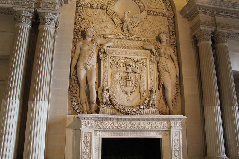 Sala das Cariátides no Louvre