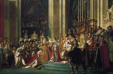 Napoleão coroando a imperatriz Josefina