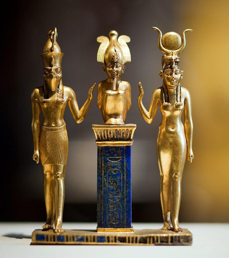 Pingente da família do deus Osíris
