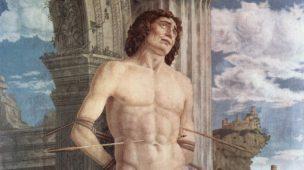 São Sebastião por Andrea Mantegna